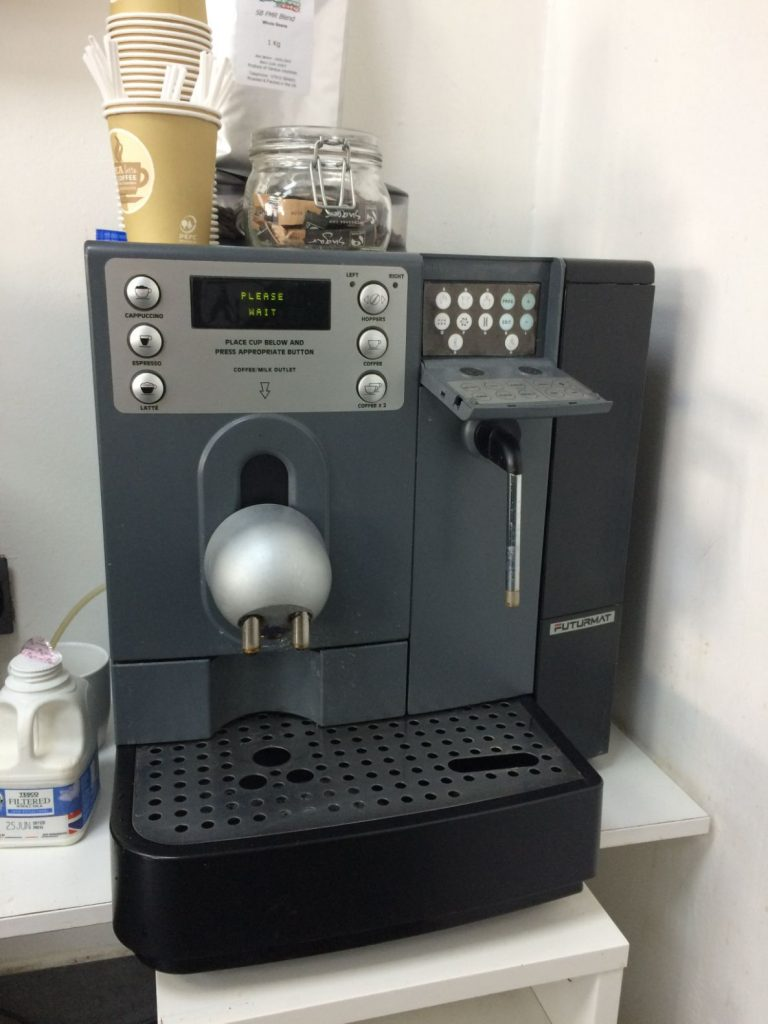 Jura Coffee Machine Repair Winton - Back in the salon